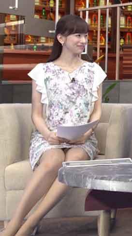 皆藤愛子 パンチラ